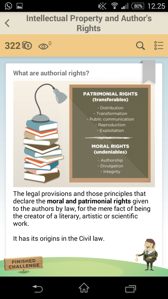 What are authorial rights?