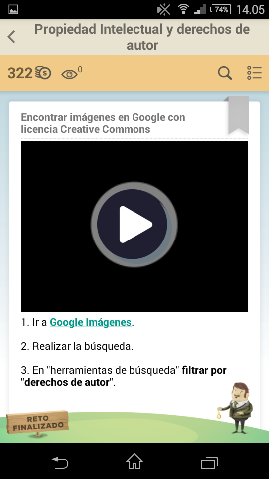 Encontrar imágenes en Google con licencia Creative Commons