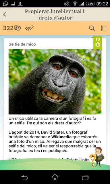 Selfie de mico
