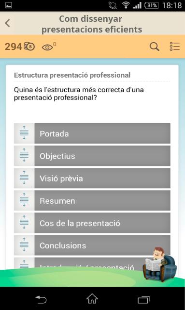 Estructura presentació professional