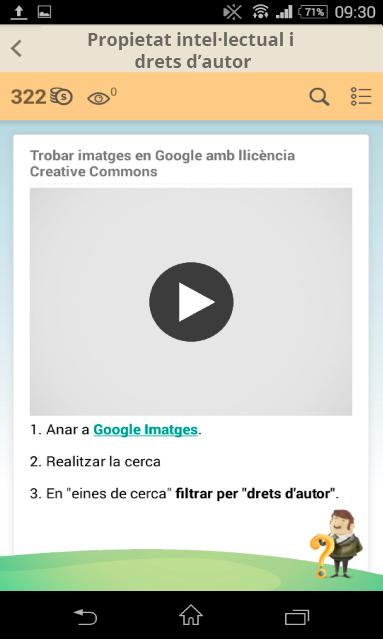 Trobar imatges en Google amb llicència Creative Commons