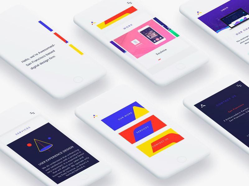 ¿Falta de inspiración? 5 ejemplos de diseño UI y UX