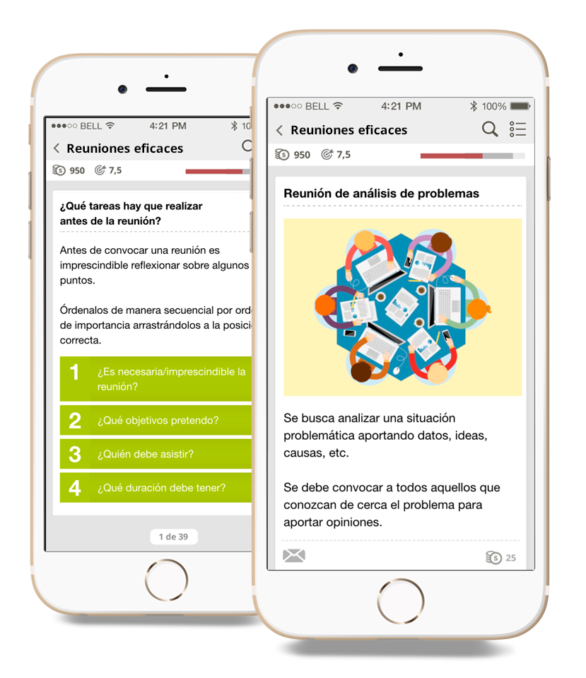 Microlearning - reuniones eficaces