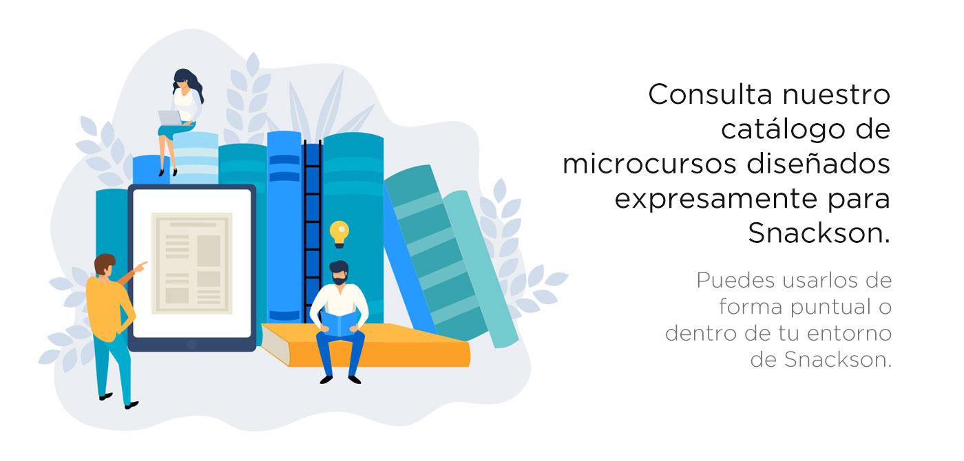 Consulta nuestro catálogo de microlearning