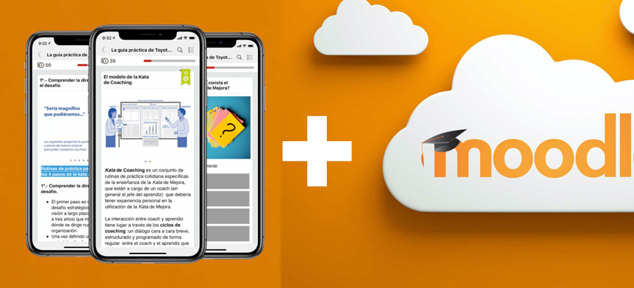 Snackson + Moodle. Microlearning + LMS