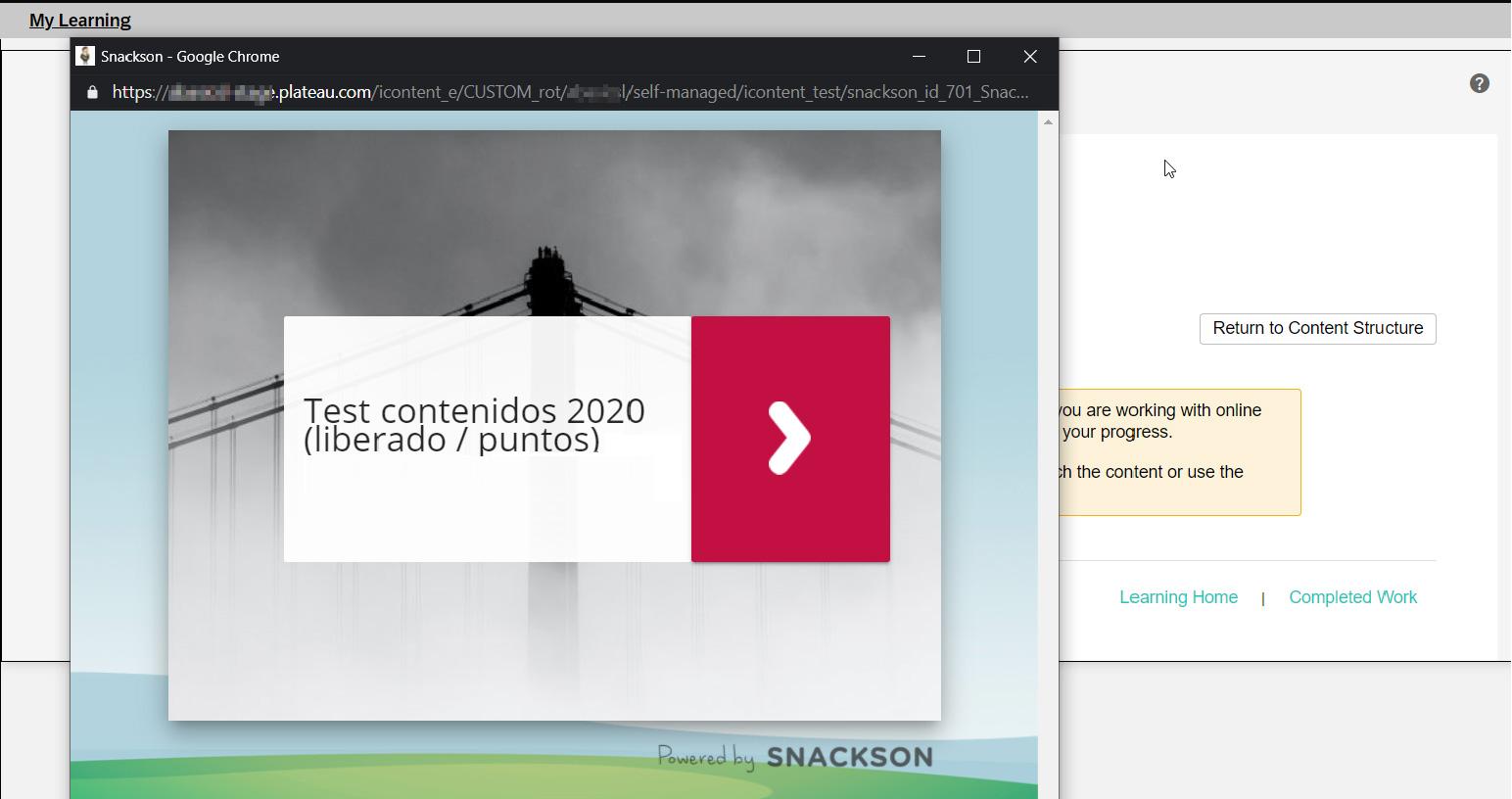 Integración Snackson con SucessFactors